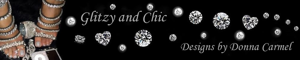 Glitzy and Chic Designs by Donna Carmel